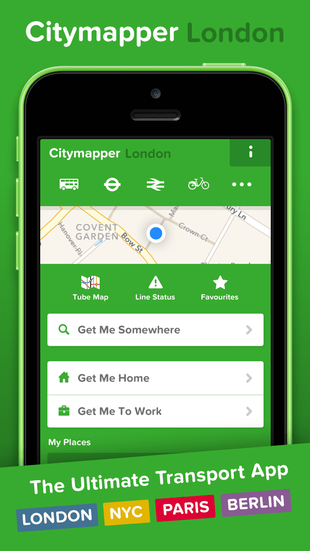 citymapper is quite simply the best transport app available for london there was a time when the tfl transport for london online journey planner was