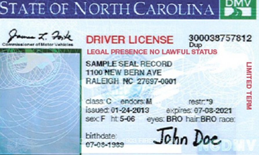 How To Get A Driver S License In Nc
