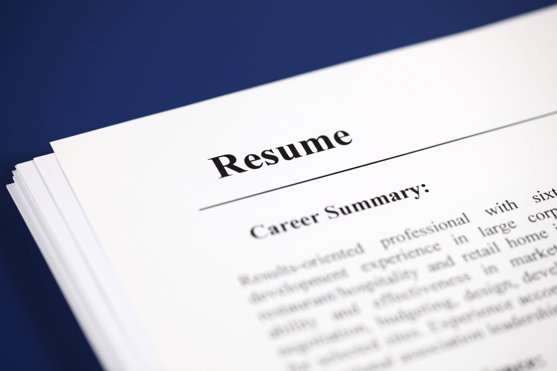 what is a summary of qualifications on a resume