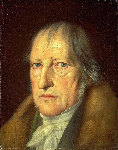 Hegel retratado por Schlesinger