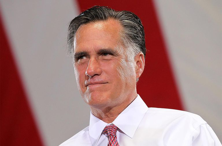 Former Massachusetts Gov. Mitt Romney