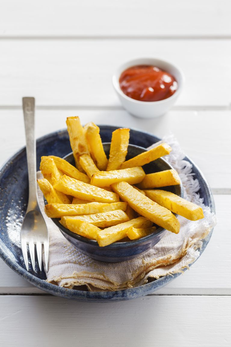 Oven-Baked Rutabaga Fries Recipe
