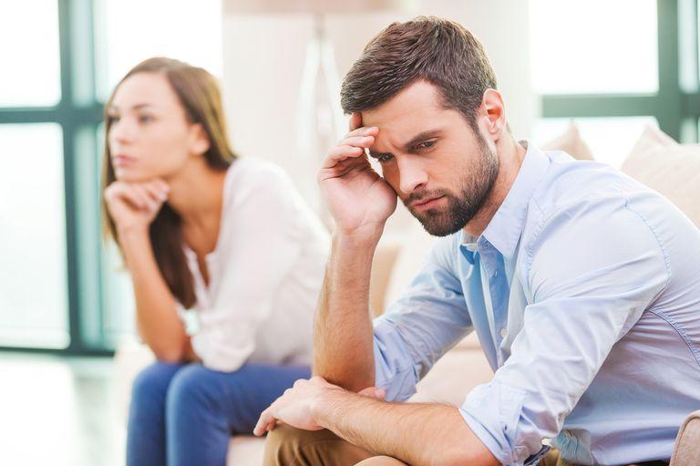 Man contemplating.