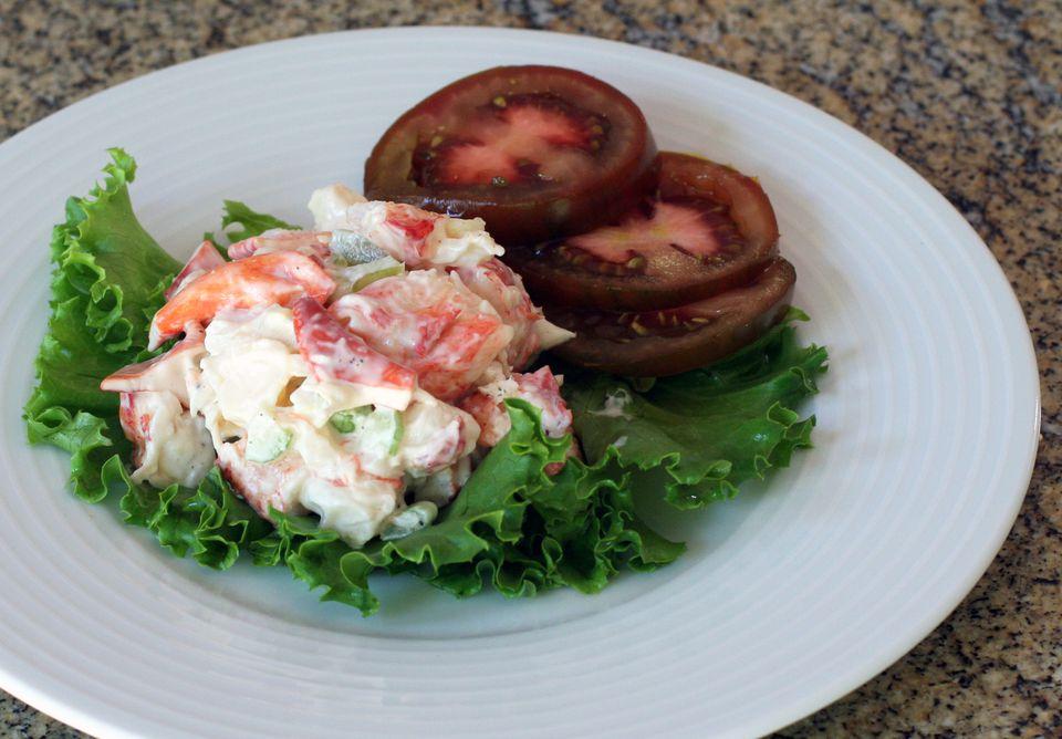 Easy Lobster Salad