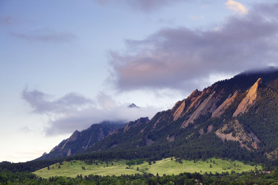 The Flatiron Mountains of Boulder, Colorado