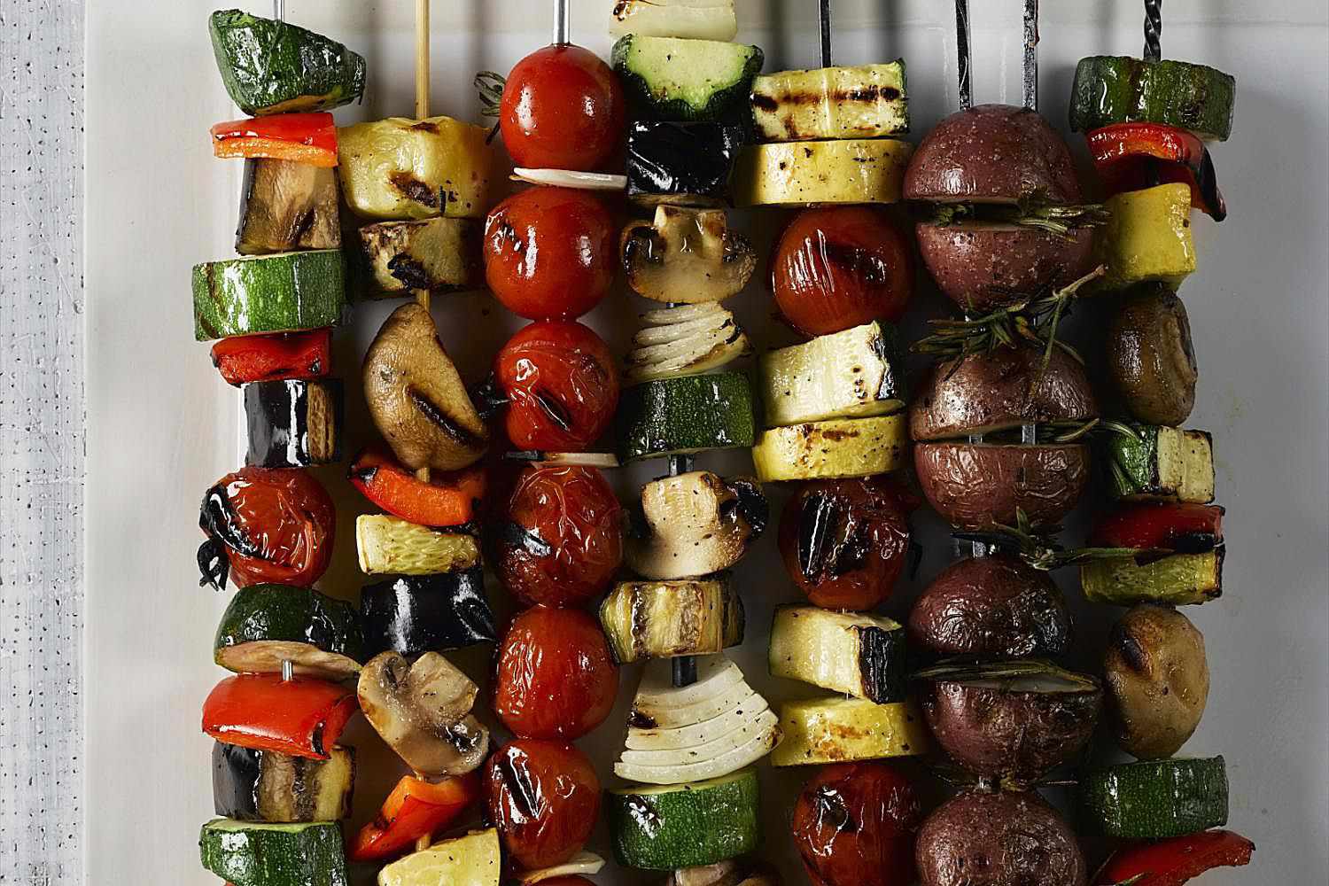 Grilled Vegetable Kebabs Recipe