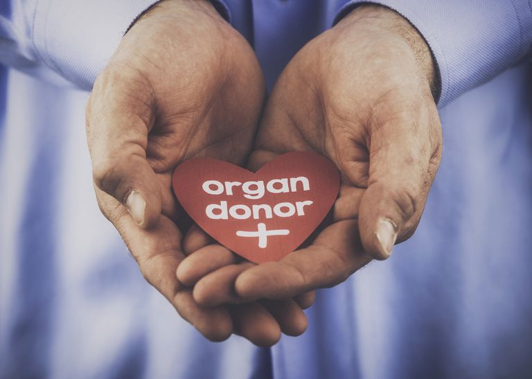Reminder of the importance of being an organ donor