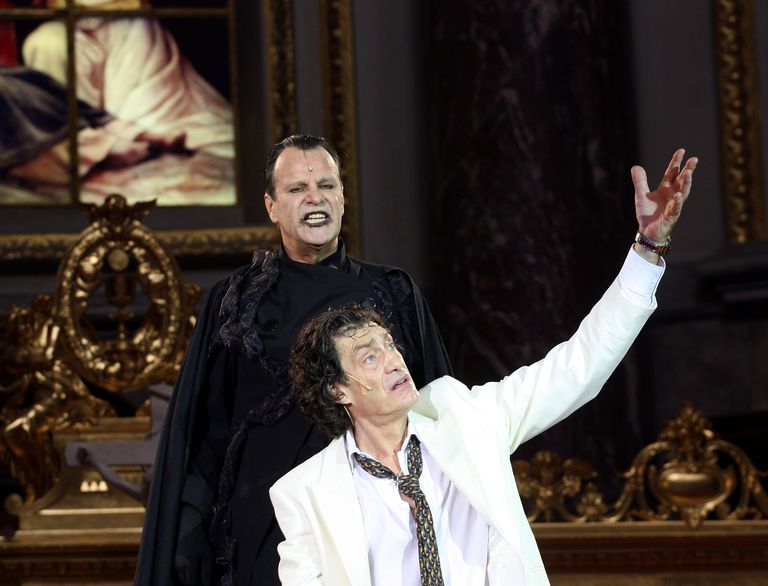 Everyman rehearsals at Berlin Cathedral