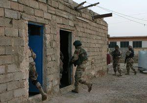 Training the Iraqi Army