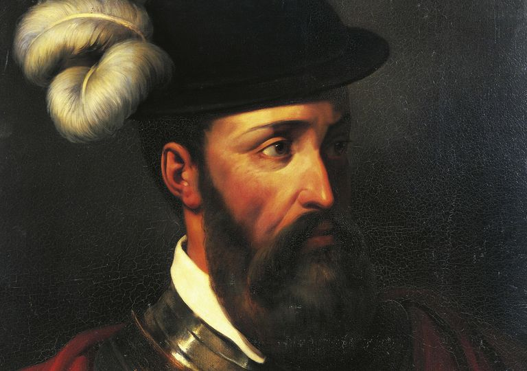 Portrait of Francisco Pizarro, 1835 Oil on canvas 28 3/10 × 21 3/10 in 72 × 54 cm