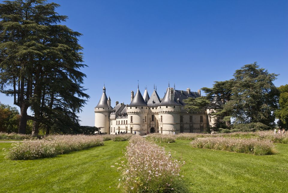 France, Loir et Cher, Loire Valley listed as World Heritage by UNESCO, Chaumont sur Loire castle