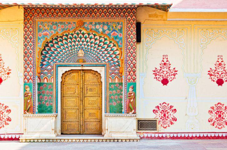 Lotus Gate - Pitam Niwas Chowk, City Palace Jaipur.