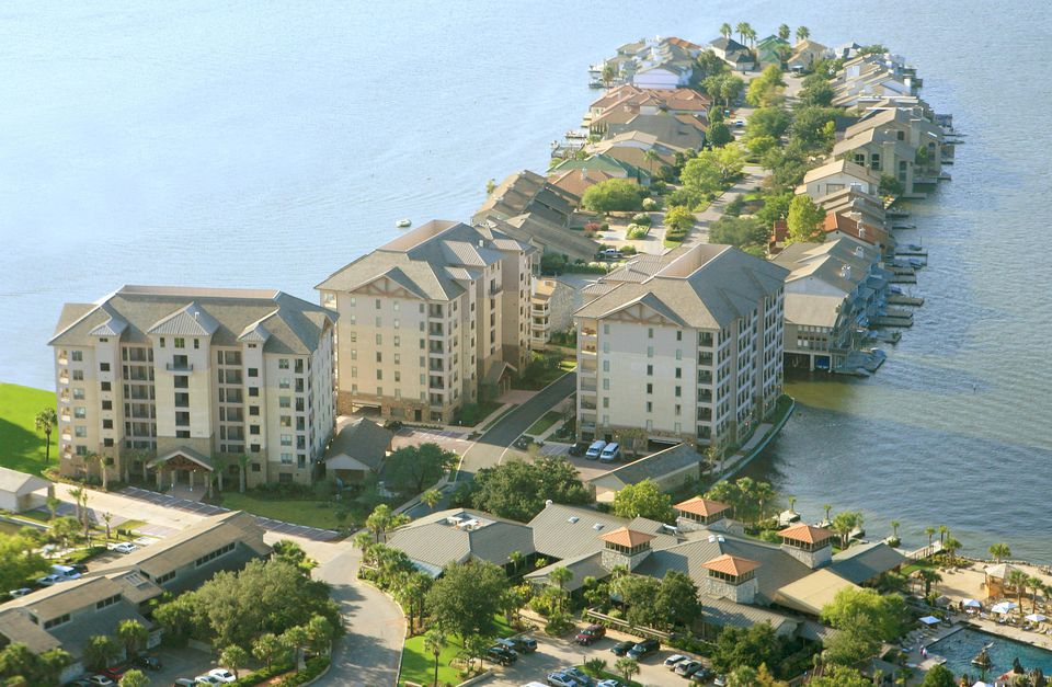 The Waters at Horseshoe Bay are a series of luxury condos