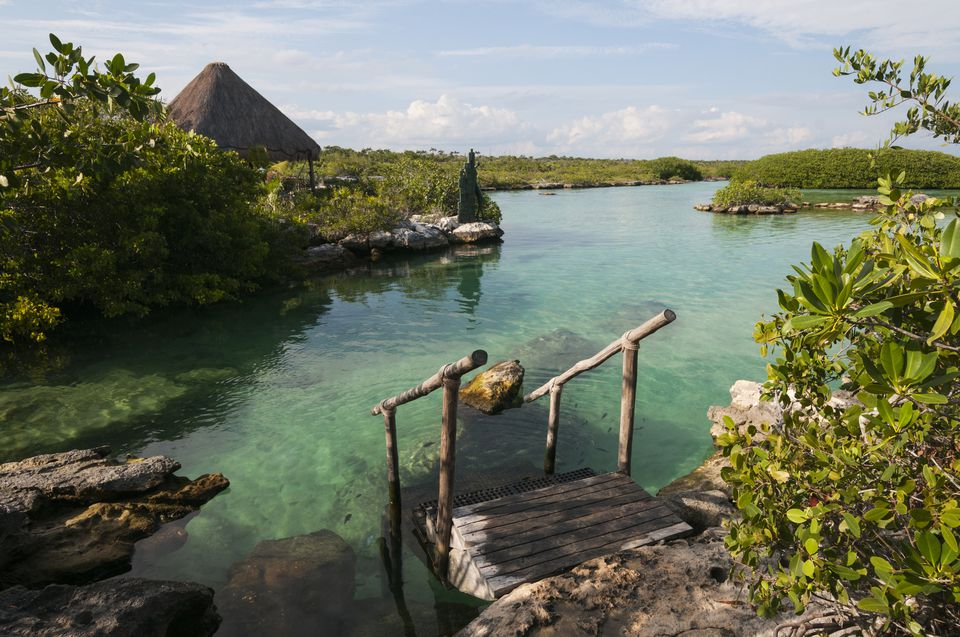 Akumal, Laguna Yal Ku lagoon