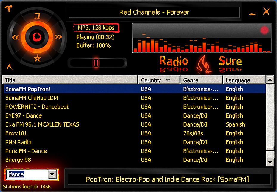 free mobile internet radio internet tools