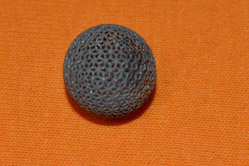 Titanium 3D Printed Ball