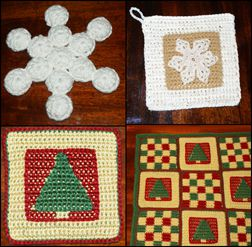Christmas Gifts to Crochet for Friends, Family and Colleagues.