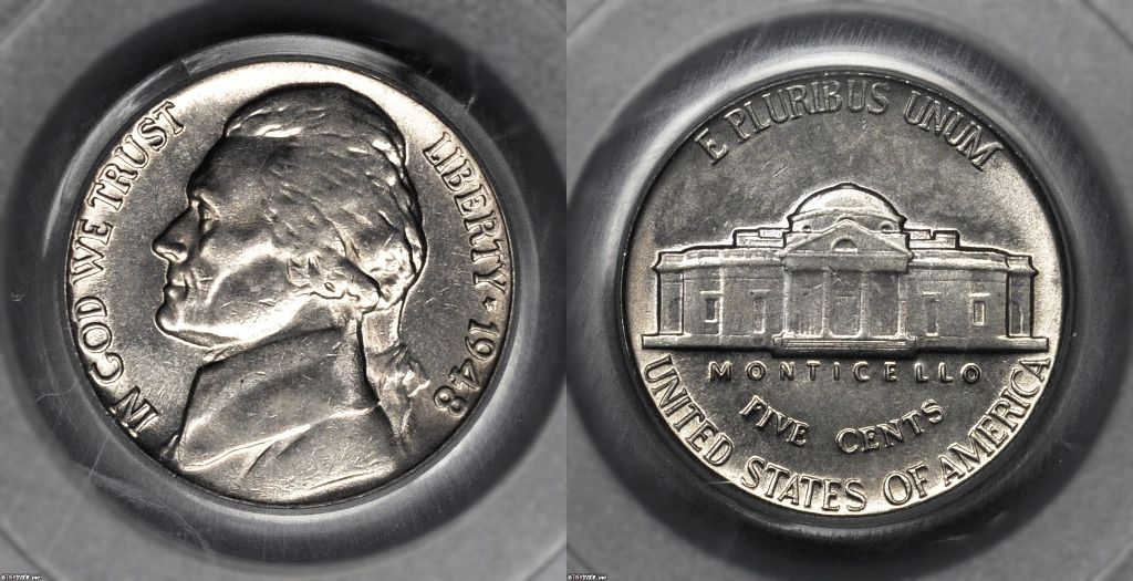 Early Jefferson Nickel Values 1938 - 1964