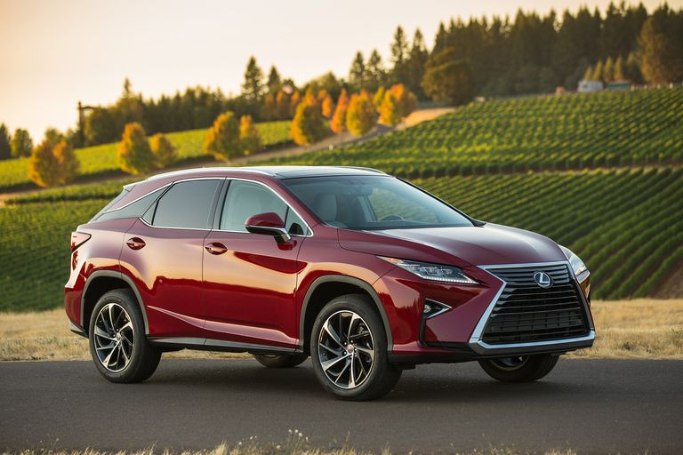 Lexus Sport Utility Vehicles And Crossovers - Sport vehicles 2016