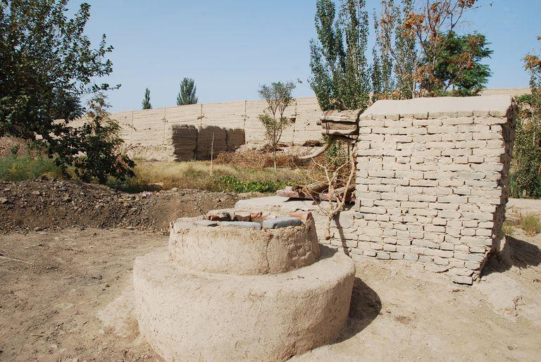 Qanat Well Head in Turfan