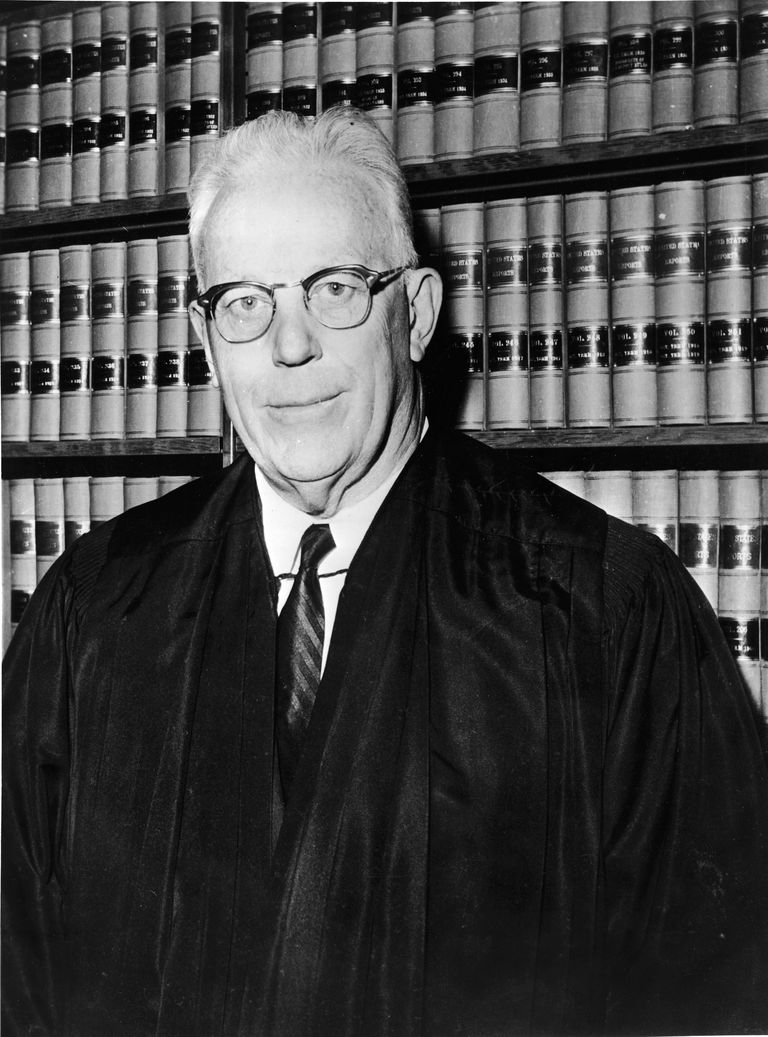 Former Chief Justice of the US Supreme Court, Earl Warren (1953–1969)