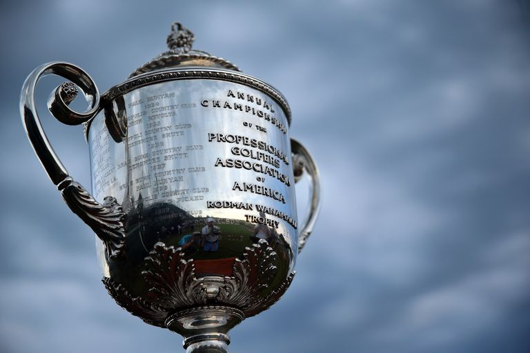 Wanamaker Trophy given to the PGA Championship winner