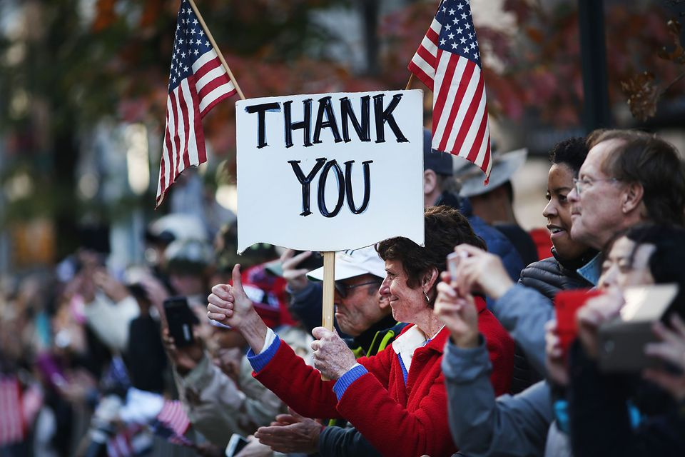 New York City Celebrates Veterans Day With Annual Parade