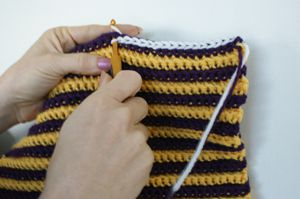 Crocheting a Slip Stitch