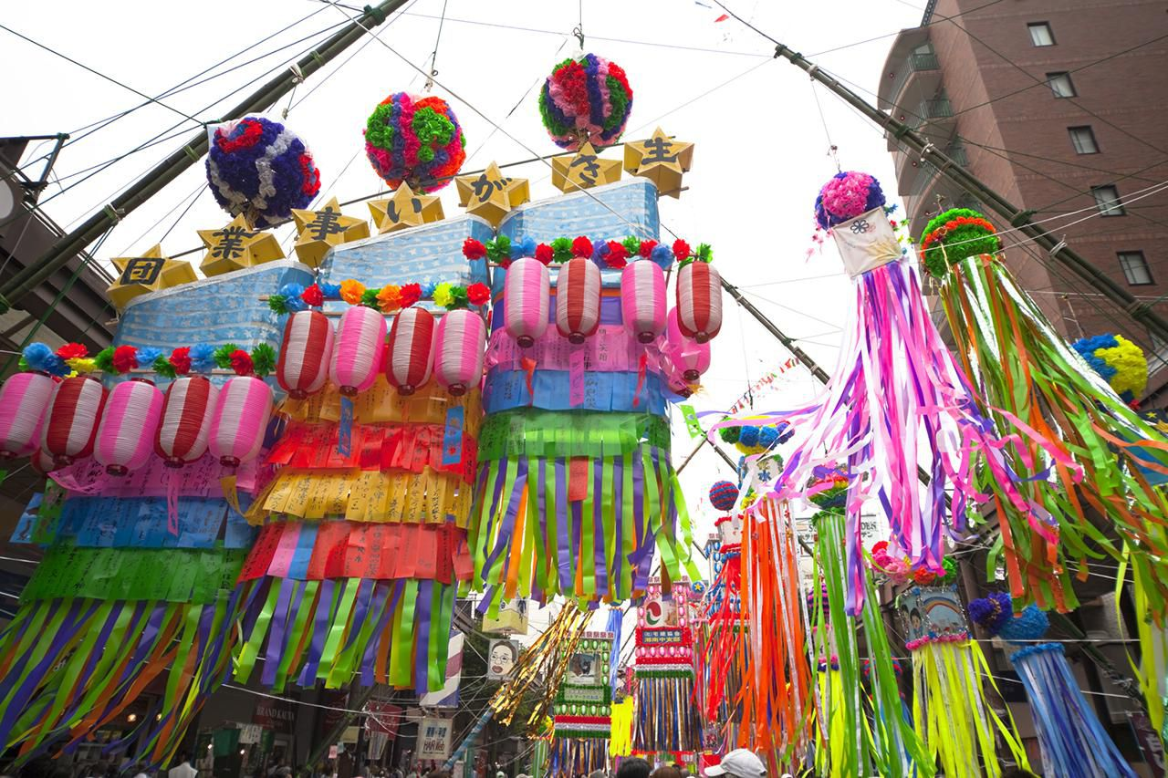 japanese food culture and the tanabata