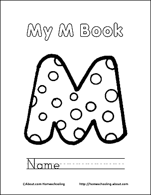 print the pdf my m book cover page and color the picture add the following pages and bind together to make a book use your back button to return to this
