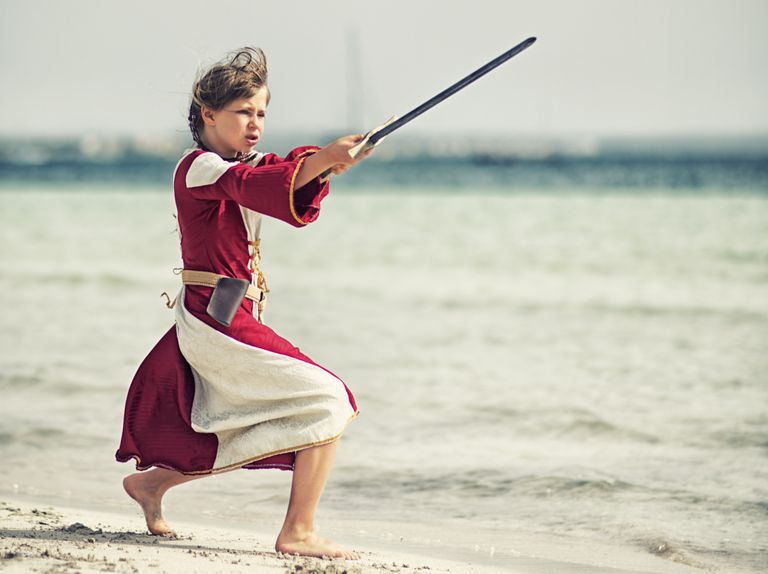 Freyja is a goddess of both fertility and battle.