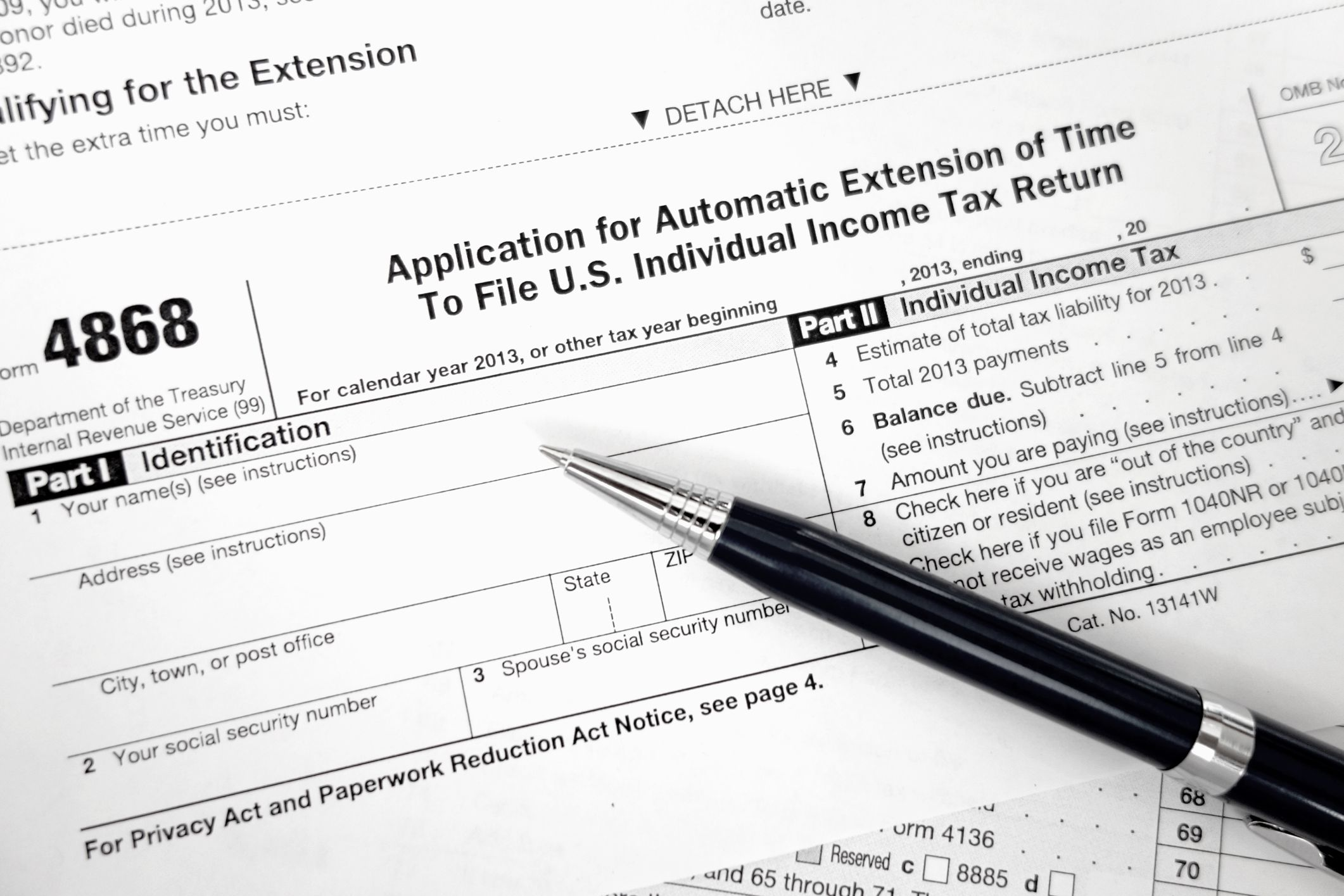 Social security withholding and other tax paymentspreparing your 1040 file for a tax extension with the irs falaconquin