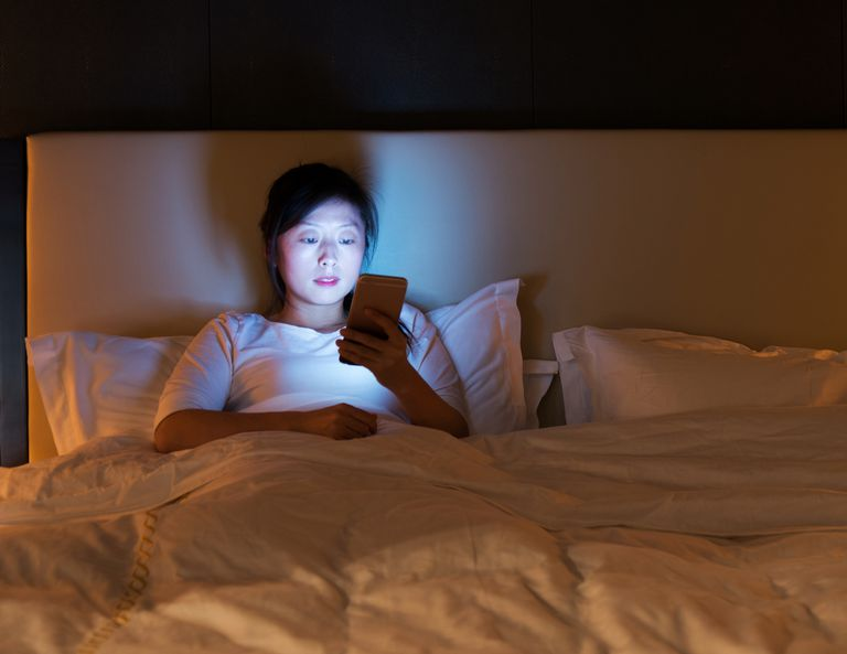 Sleep texting may occur more commonly in teenagers and those who sleep with the phone nearby the bed