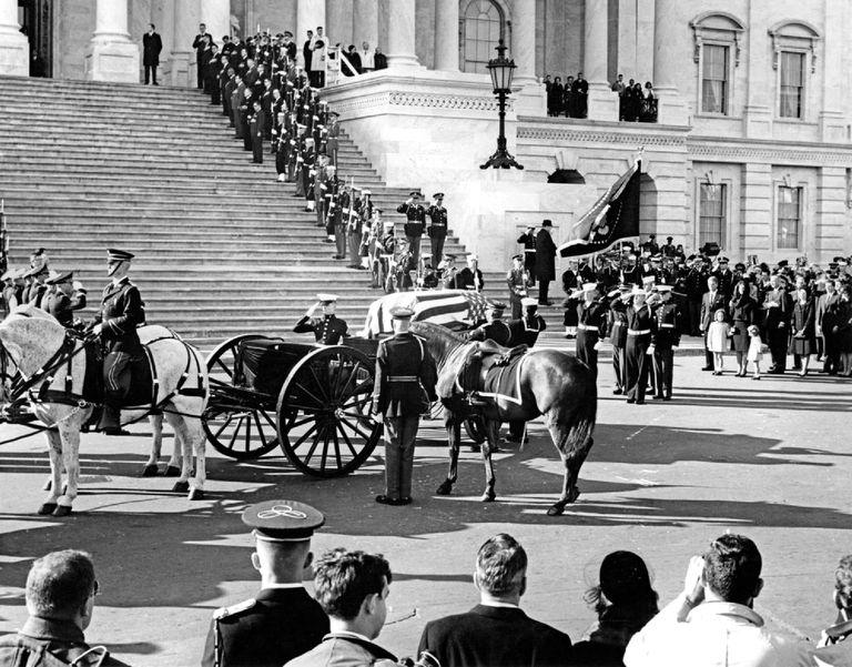 JFK funeral at US Capitol