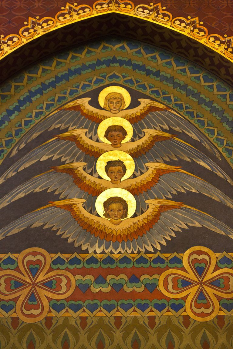 Dominions angels halos wings