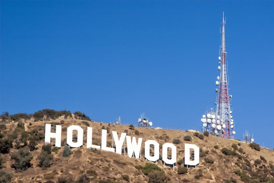 Hollywood Sign Iconic View
