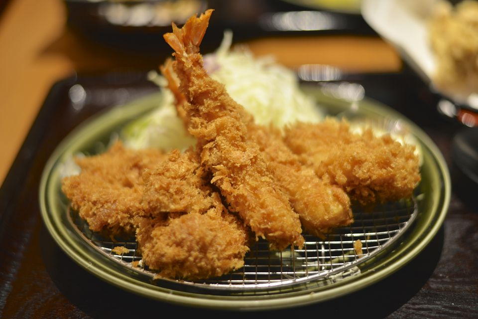 Japanese Breaded and Deep Fried Shrimp (Ebi Fry)