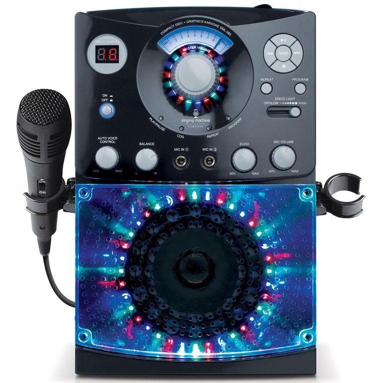 Singing Machine SML-385 Top Loading CDG Karaoke System