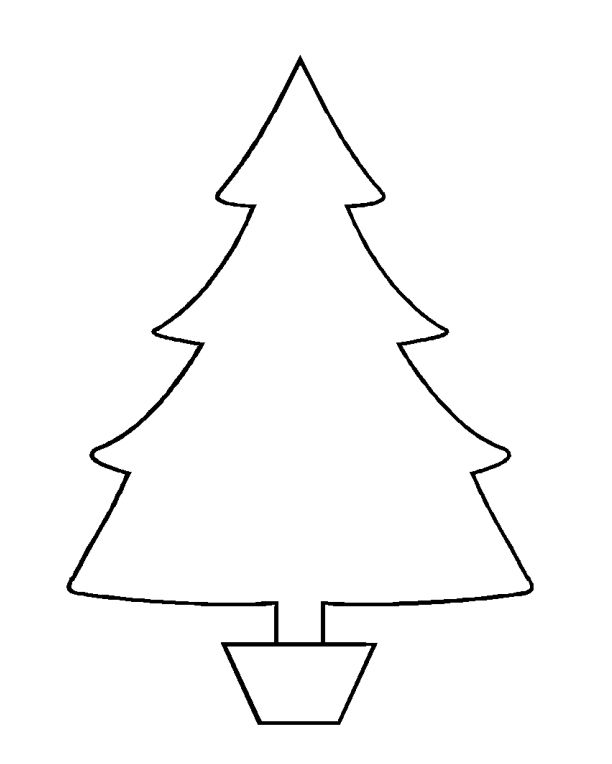 37 christmas tree templates in all shapes and sizes pronofoot35fo Choice Image