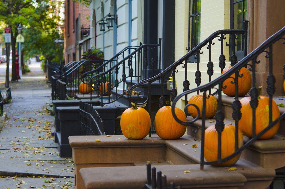 Brooklyn, New York, in the fall.