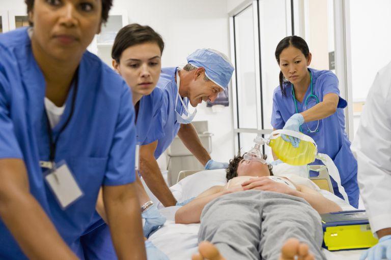 Patient in Emergency Room