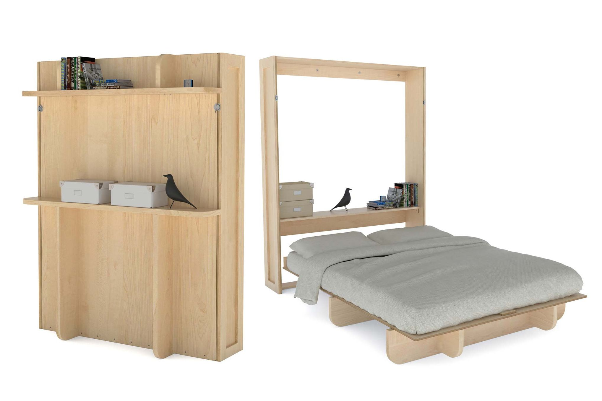 12 diy murphy bed projects for every budget amipublicfo Image collections