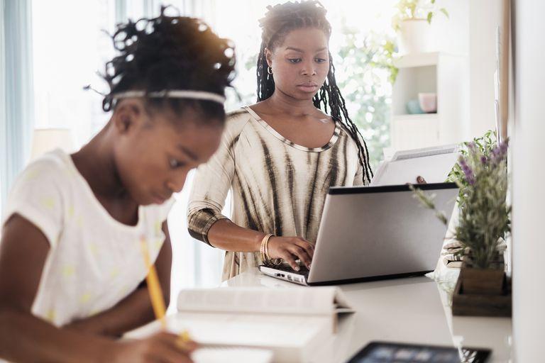 Mom Buying Used Homeschool Curriculum Online