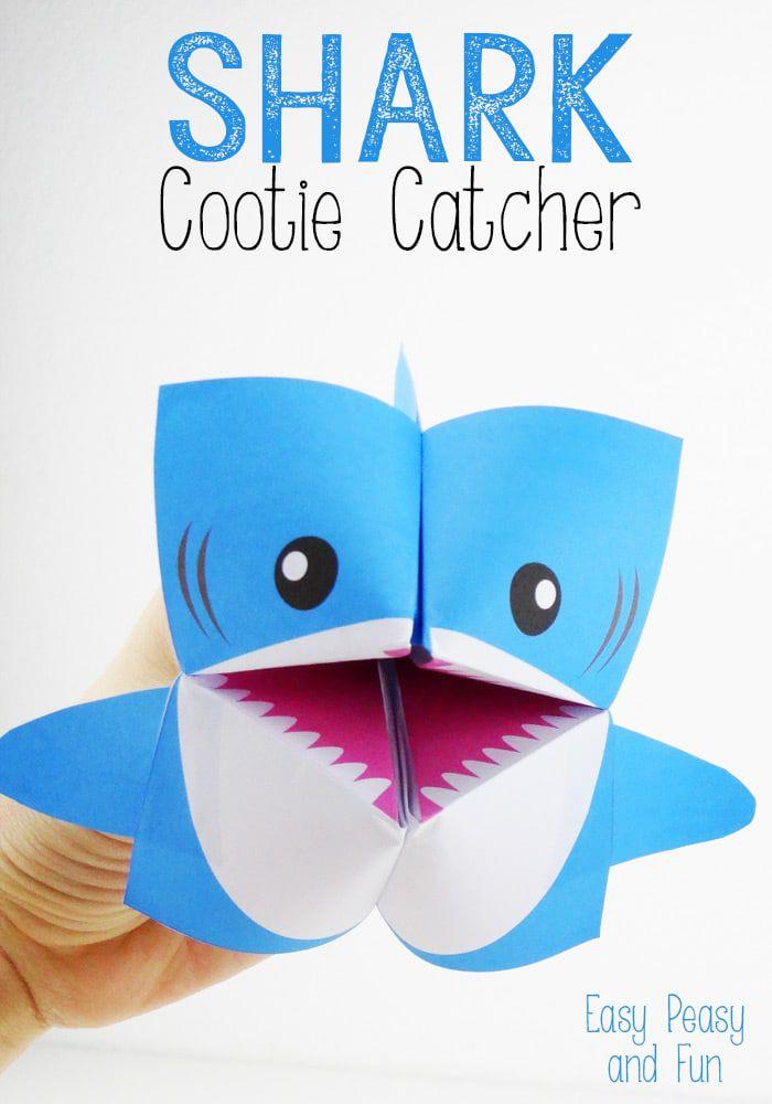 10 Creative Cootie Catchers – Cootie Catcher Template