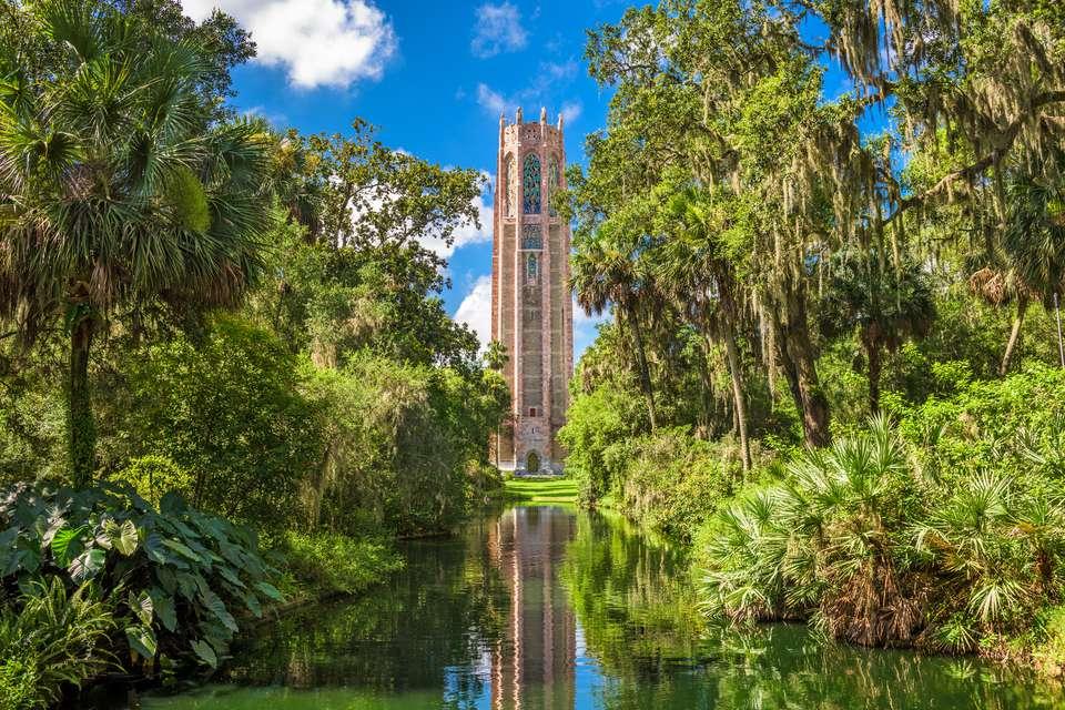 Bok Tower, Lake Wales, Florida. Sean Pavone / Getty Images