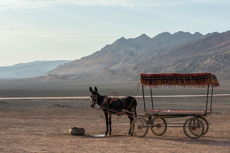 Turpan Basin and the Flaming Mountains