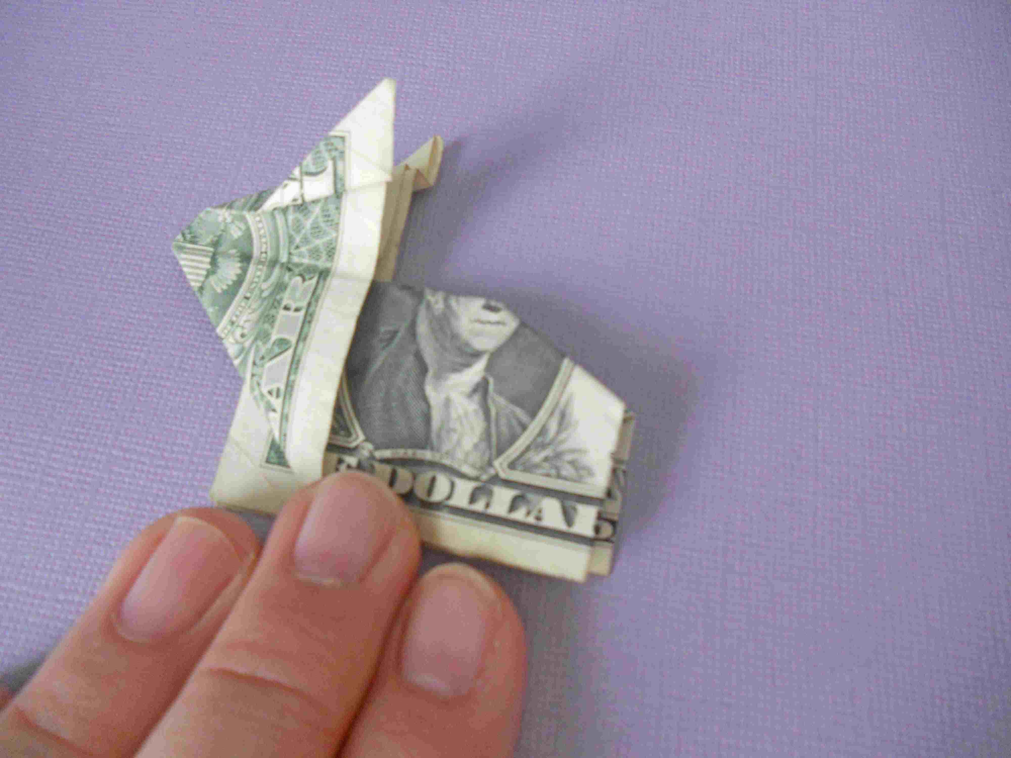 Learn how to make a crafty origami bunny out of cash jeuxipadfo Image collections