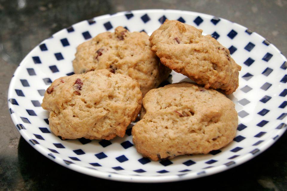 Granola Cookies With Cranberries