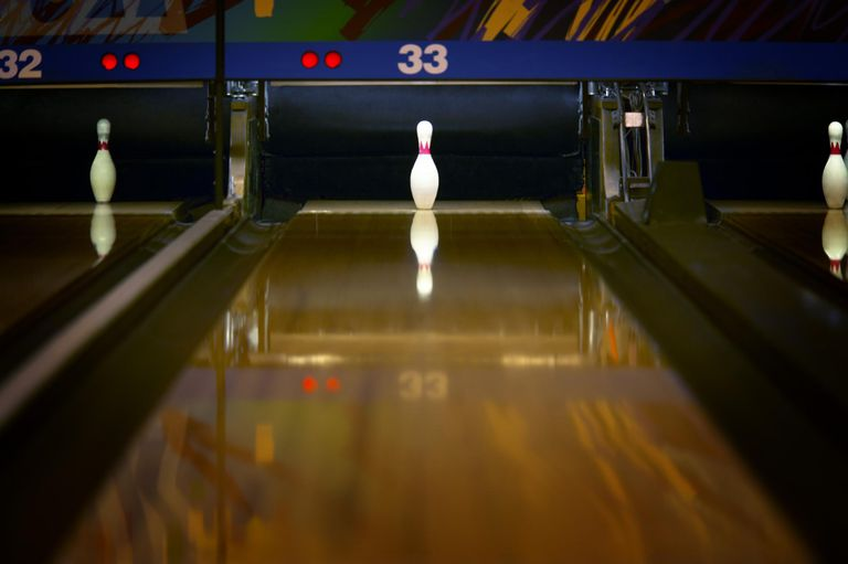 Adult bowling games young