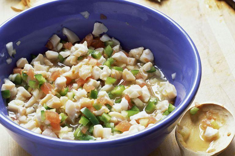 Conch ceviche